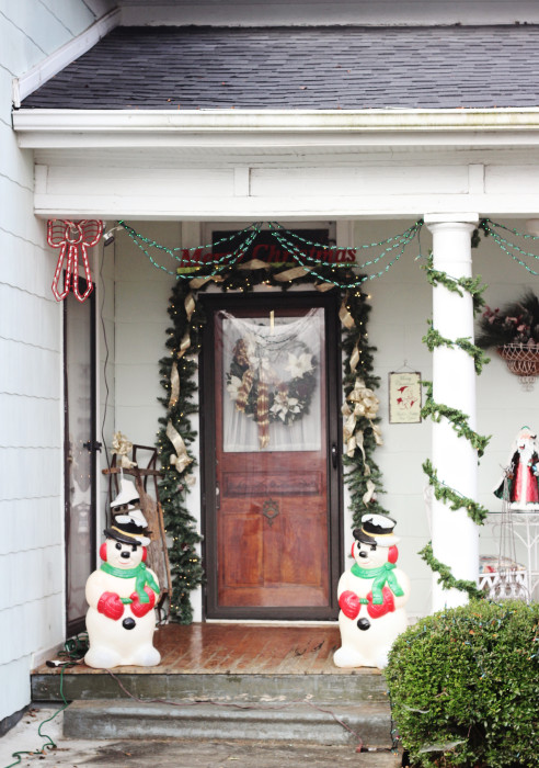 vintage christmas decorations for outside - Vintage Christmas Home Decor