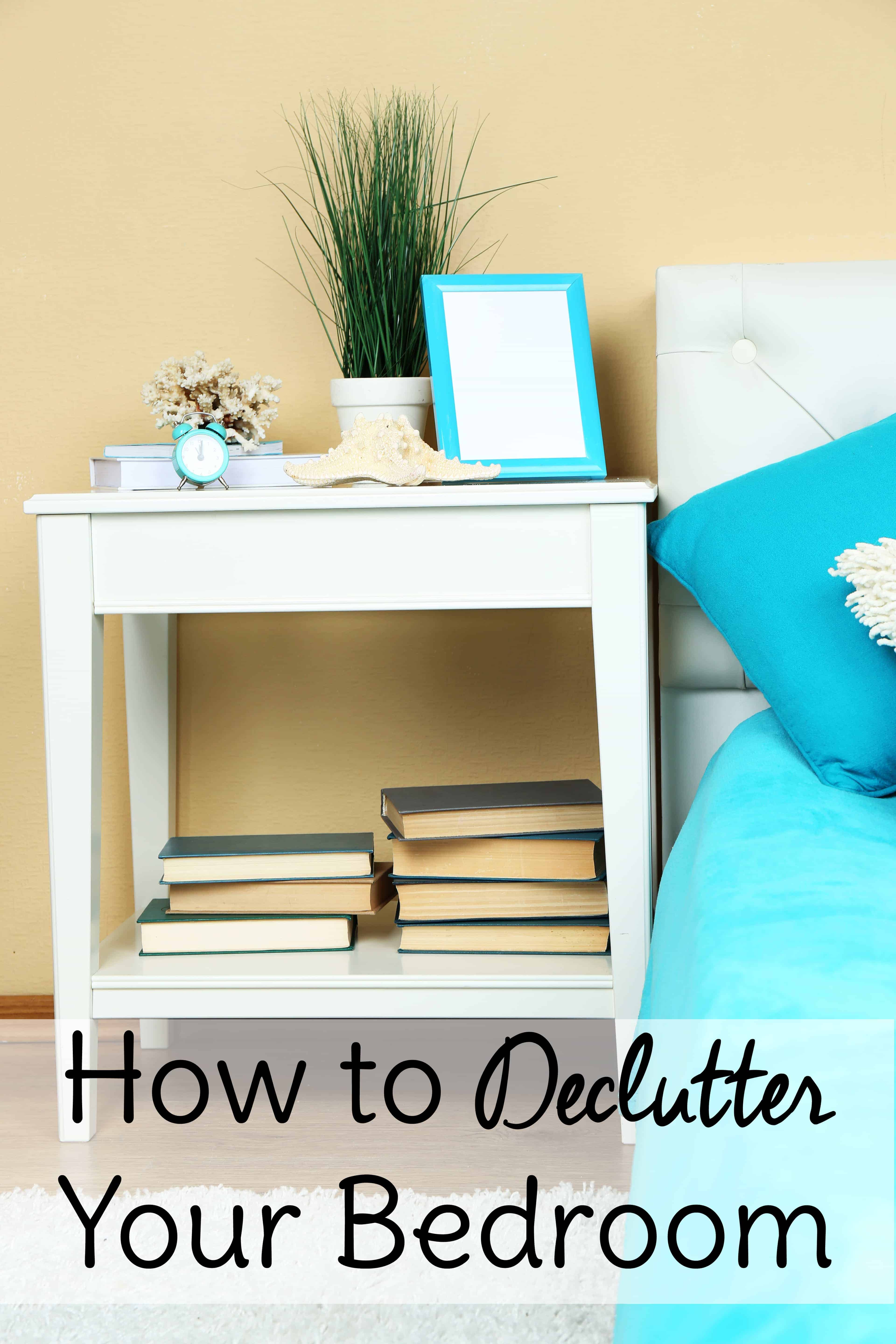 declutter bedroom.  How to Declutter a Bedroom Sweet T Makes Three