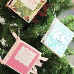 Learn how to make paper christmas ornament with pictures with this easy Christmas DIY. Fun Christmas ornament craft to with kids too!