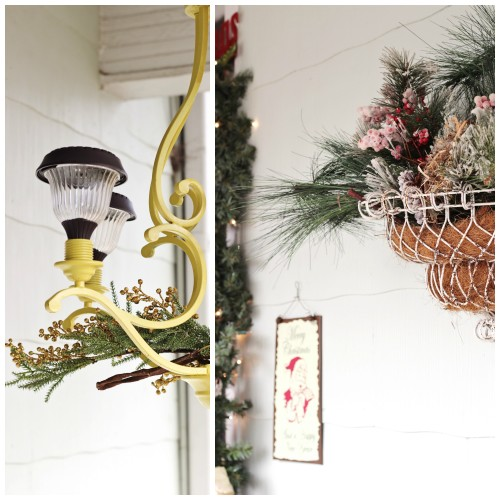 Vintage christmas decorations for outside sweet t makes Classic outdoor christmas decorations