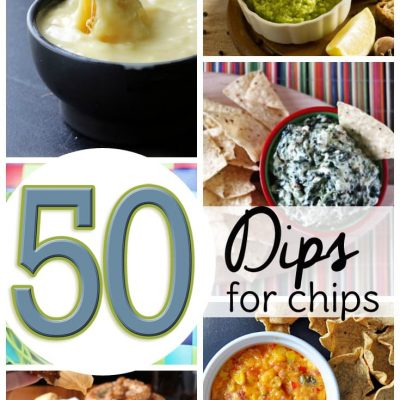 50 different dips for chips! Divided up into hot dip and cold dip categories, these easy appetizer recipes are sure to please your crowd.