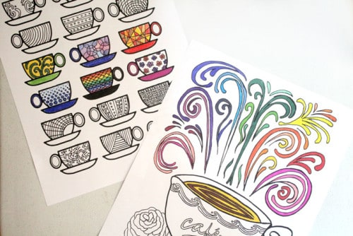 15 Free Adult Coloring Pages Sweet T Makes Three