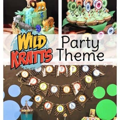 Have a wild time with a Wild Kratts birthday! This Wild Kratts party theme will inspire you from the free creature power disc printable to the Wild Kratts cake!