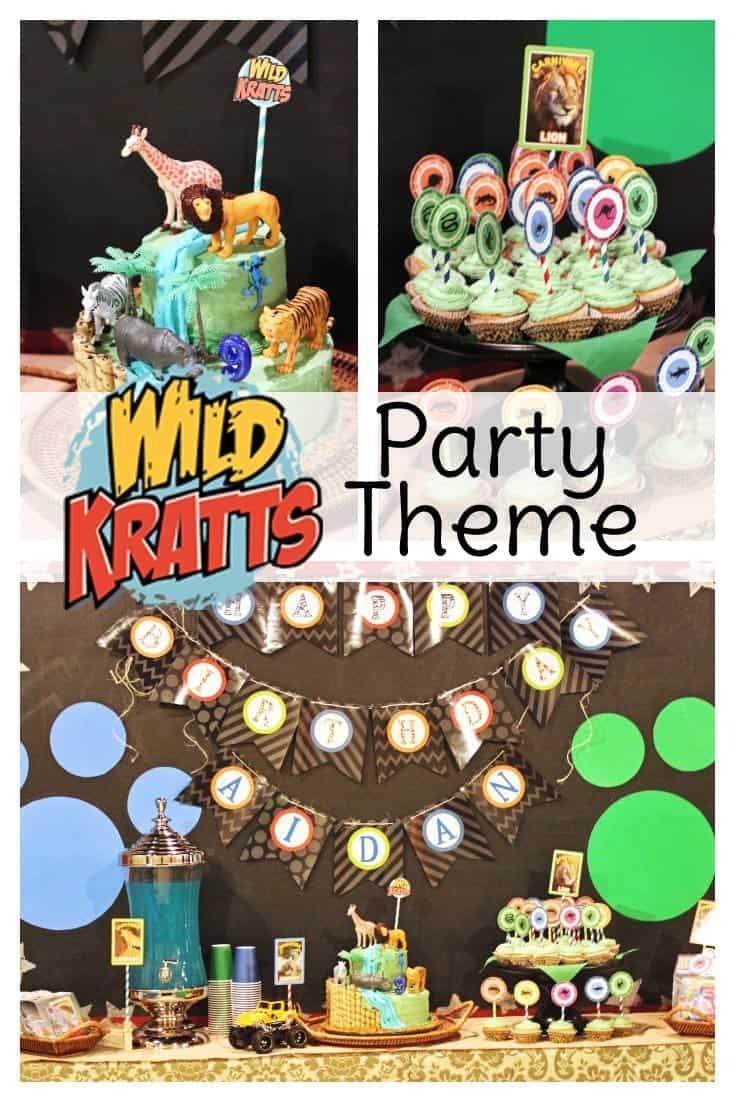 Wild Kratts Party Ideas Sweet T Makes Three