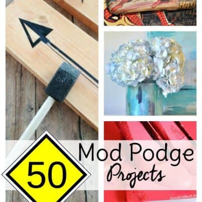 50 Mod Podge projects to feed your Mod Podge craft cravings! From wreaths to cell phone covers, if it involves Mod Podge, you'll find it here.
