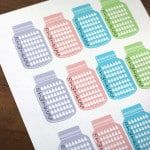 Free Hydrate Planner Stickers!