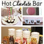 Easy Ideas for a Hot Chocolate Bar