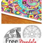 A collection of mandala coloring pages for adults. Yay for free coloring sheets for adults!