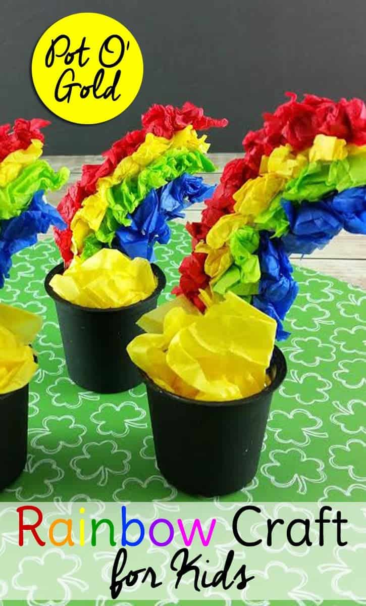 pot of gold craft pot of gold craft for for st s day 5249