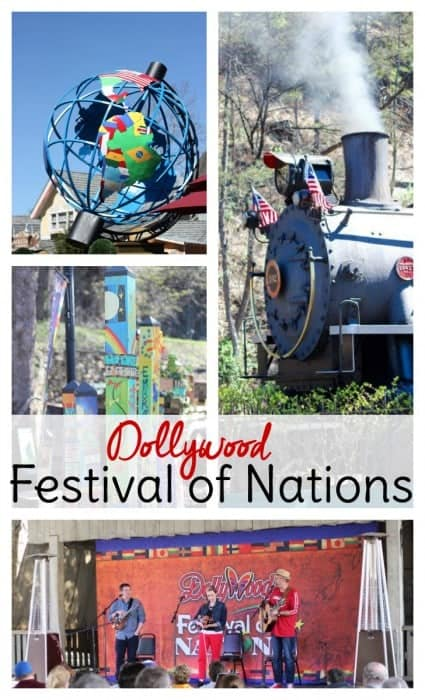 A visit to Dollywood during the Festival of Nations is worth adding to your family travel bucket list!