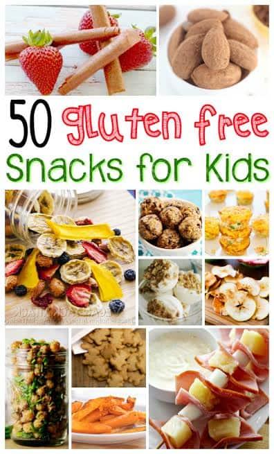 50 Gluten Free Kid S Snacks Sweet T Makes Three