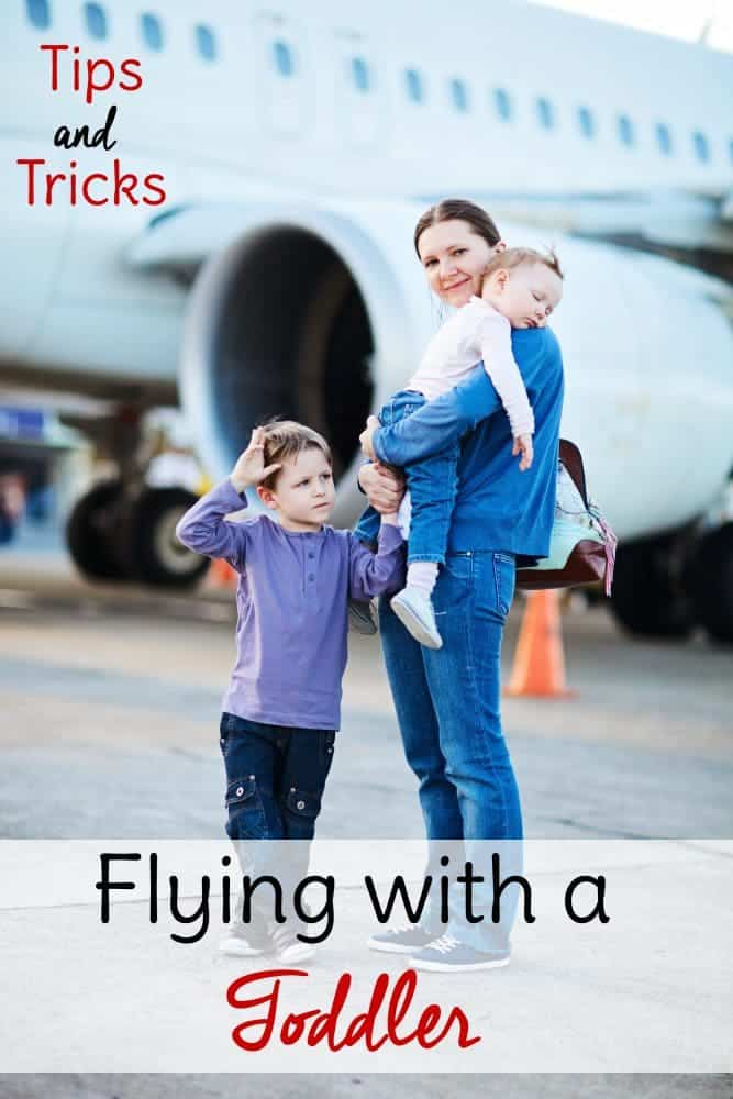 Flying with a toddler? Don't be anxious! You can do it. Use these tips and tricks to help and enjoy your <a href=