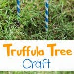 Truffula Trees Dr. Seuss Lorax Craft for Kids!