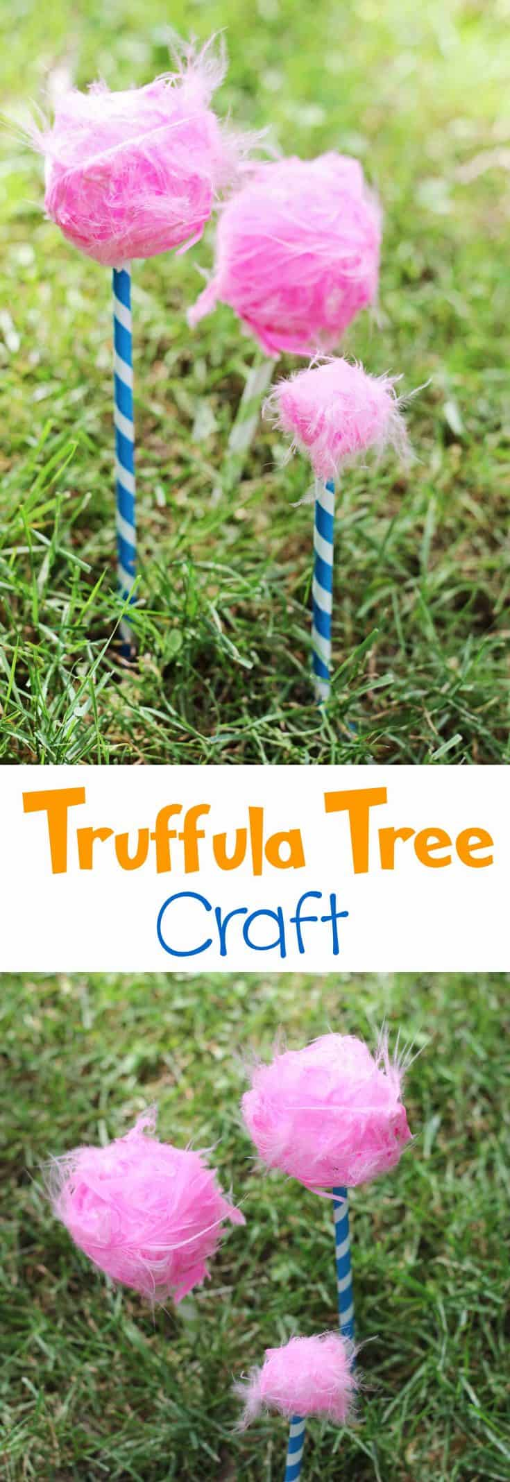 how to make a truffula tree diy