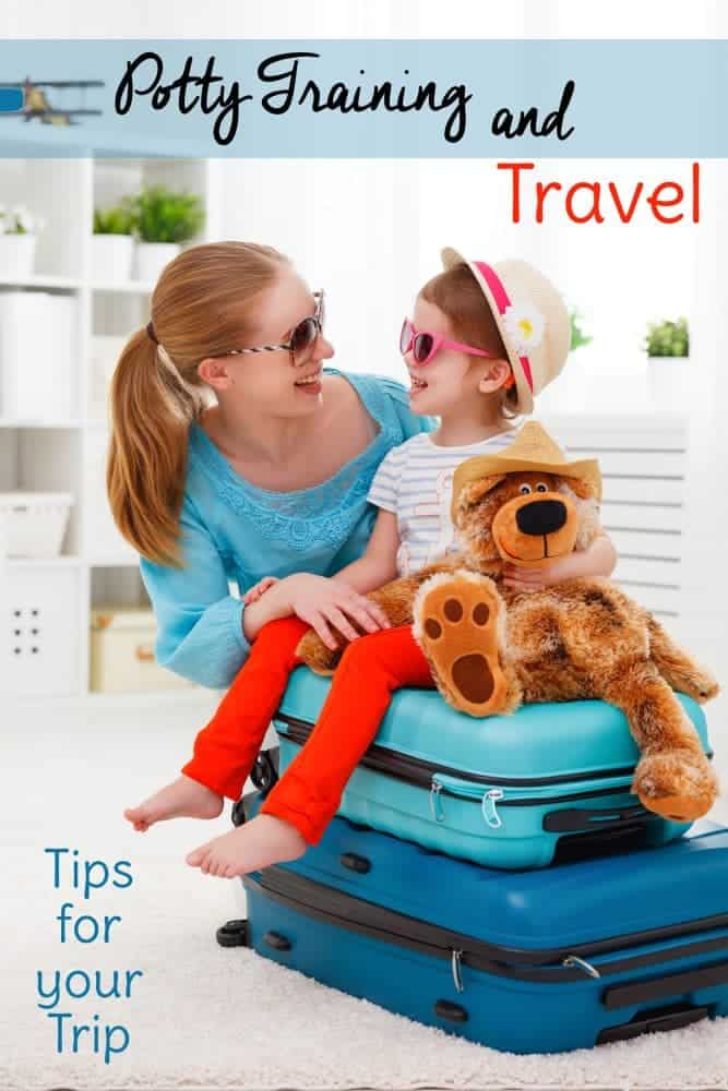 Potty training and travel isn't for the faint of hear, but you can do this, Mama! Check out these potty training while traveling tips for potty training boys and girls.