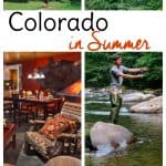 Find out why a summer Colorado vacation should be on your bucket list of travel destinations!