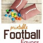 Free Printable Football Party Favor Boxes!