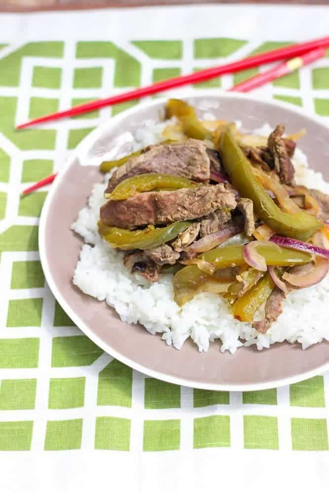 Slow cooker recipes are my favorite way to get dinner on the table. Try this Crock-Pot recipe for Green Pepper Steak for an easy dinner. You'll fall in love with Crockpot meals live I have!