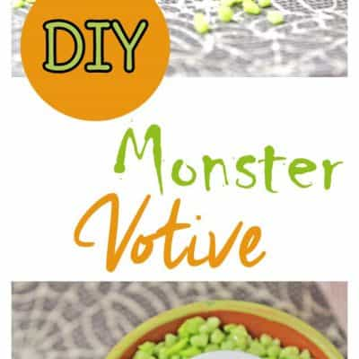 Halloween decorations are even better when you make them yourself. Try this cute little monster Halloween craft with your kids!
