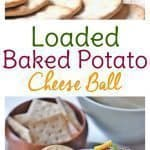 Who doesn't need easy appetizers for a party this time of year? Whether it's game day food or finger foods for a crowd you need, try this Loaded Baked Potato Cheese Ball. It's a fun hybrid food that your party guests will want the recipe for! And guess what? It's a make ahead appetizer which will save your sanity on the big day!