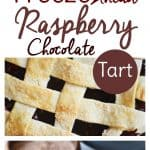 Freezer meals come in handy during the holiday season, but how about freezer desserts? We all know you can freeze ahead Christmas cookies, but try this crowd pleasing Raspberry Chocolate Tart too. It can stay in your freezer for up to 6 months!