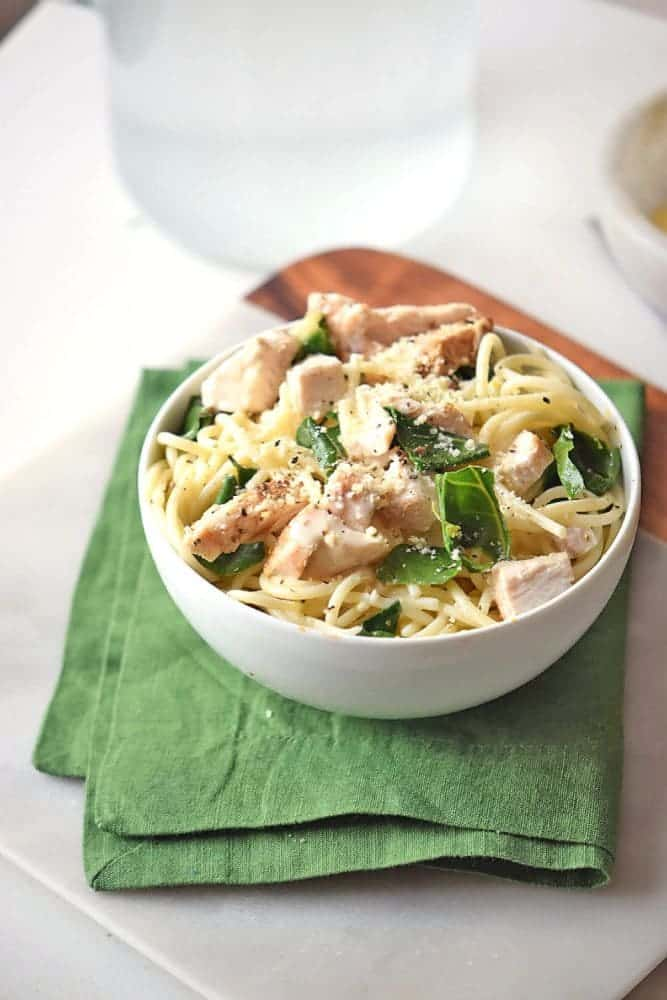 Mix up your routine chicken Crockpot recipes with this Crock Pot Chicken Florentine. It's ready to serve in just a few hours and as far as slow cooker recipes go, it doesn't get much easier.