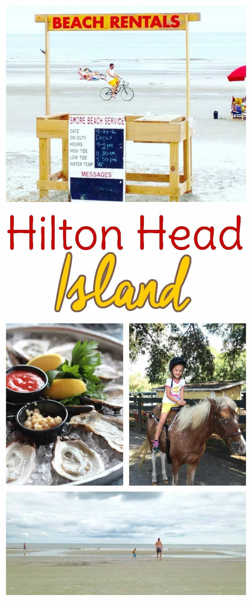 Travel tips when visiting Hilton Head Island, South Carolina as a family vacation destination