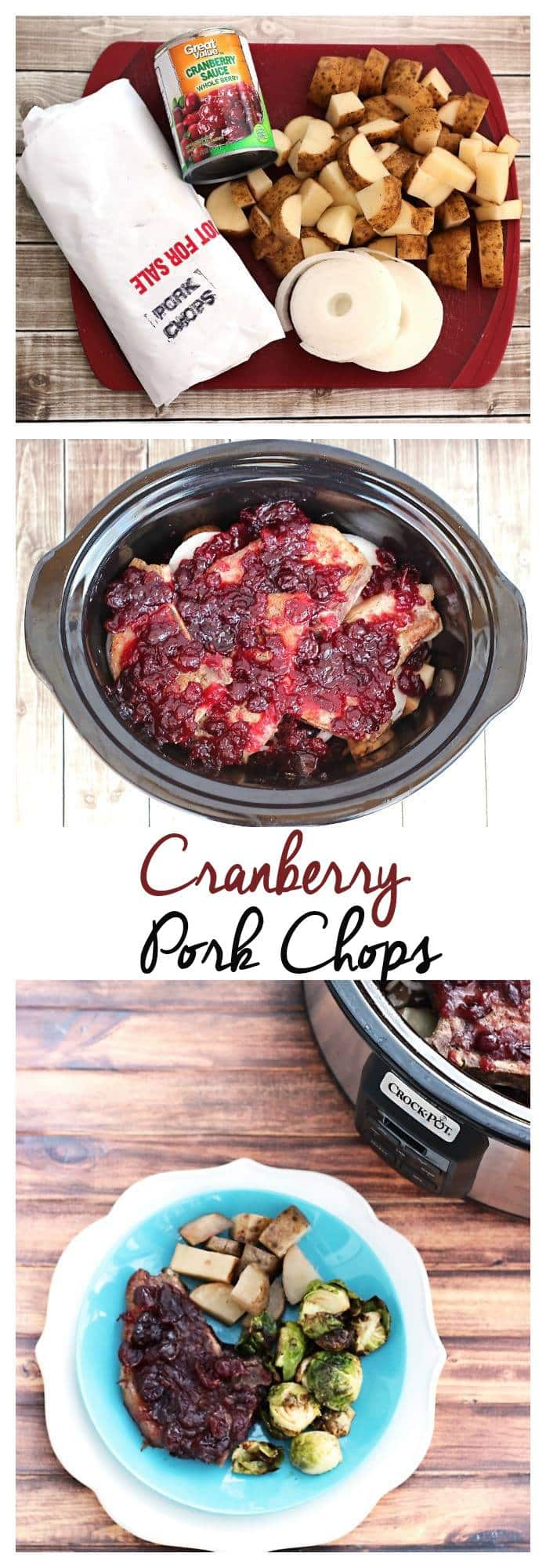 Crock pot pork cranberry sauce recipe