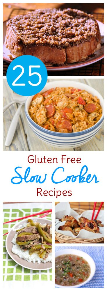 These Gluten free Crockpot meals are a lifesaver for busy days. Click over for 25 easy gluten free Crock Pot recipes to try this week!