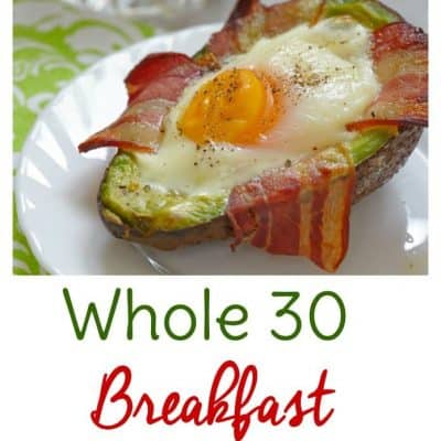 Whole 30 breakfast on the go is a convenient way to start your day off on the right track. Make ahead these Whole 30 breakfast recipes or whip them up and eat on your way to work.