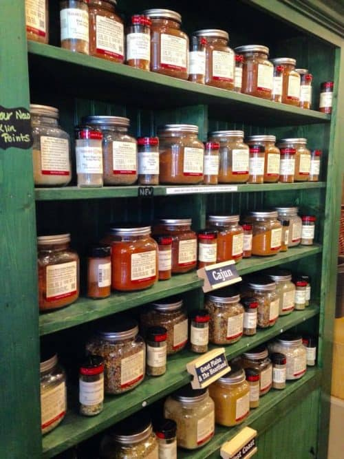 While not a Downtown Franklin TN Restaurants, you'll want to include Savory Spice Shop in your list of downtown franklin tn shops to visit so you can enjoy the foodie experience at home!