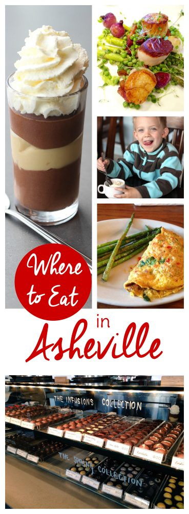 Check out this downtown Asheville restaurant guide to learn where to eat in Asheville whether you have kids in tow or you're gluten free! There's something for everyone.