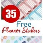 35 Free Printable Planner Stickers!