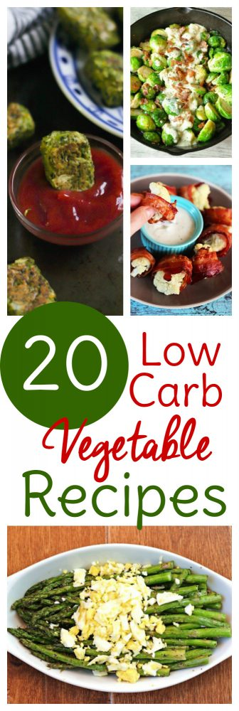 Low carb veggie recipes