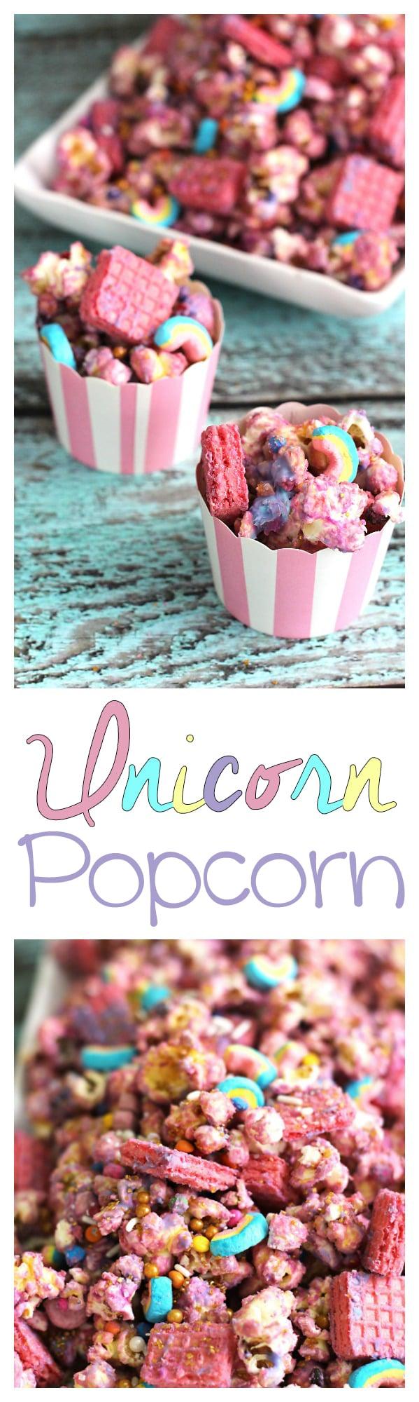 Popcorn Party Cake Recipe