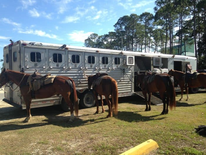 Yes, you can go horseback riding on the beach in Florida (in the panhandle too!) Check out why horseback riding on Florida beaches is something I can't wait to do again.