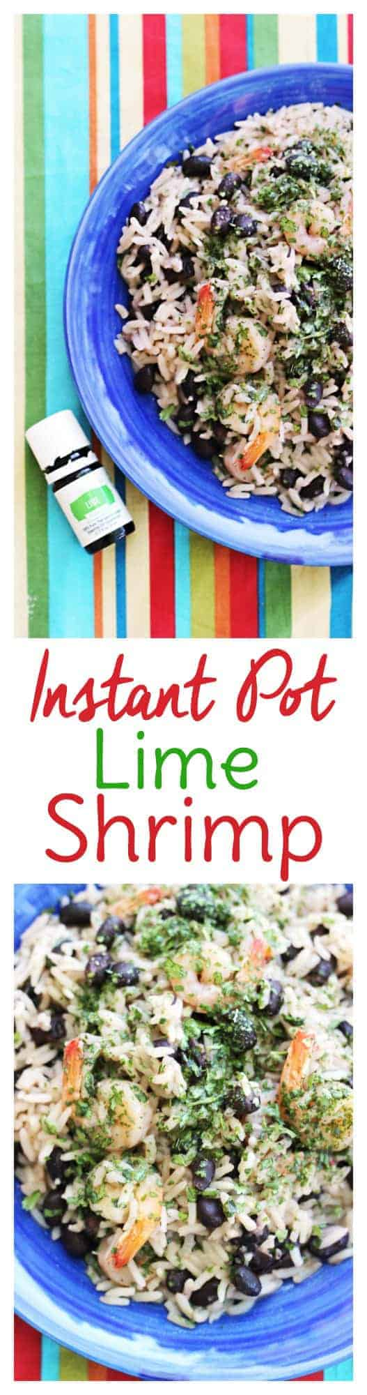 Instant Pot Lime Shrimp