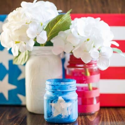 Get your red, white, and blue on while making these 4th of July crafts for kids with your little ones.