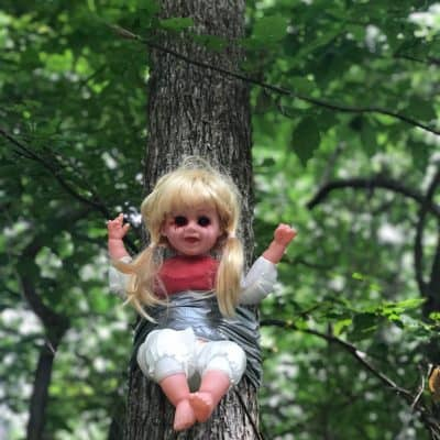 Looking for haunted places to visit in Alabama? Check out Cry Baby Hollow in Hartselle
