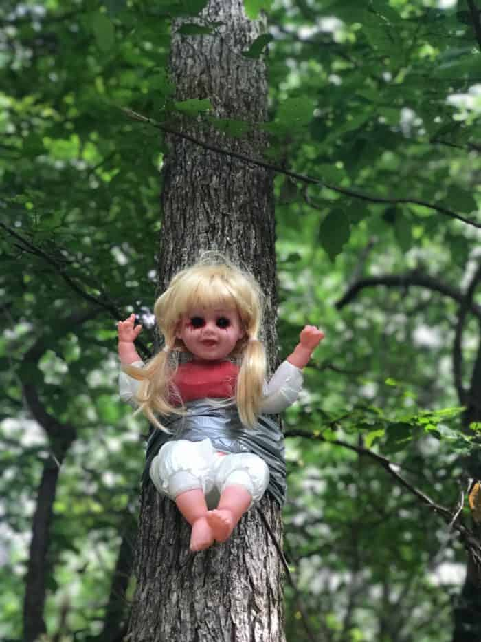 Looking for haunted places to visit in Alabama? Check out Cry Baby Hollow Bridge in Hartselle