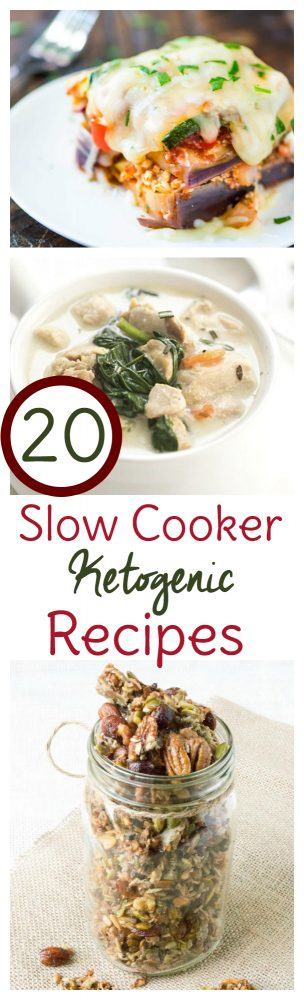 The ketogenic diet doesn't have to be hard. These 20 Crock Pot <a href=