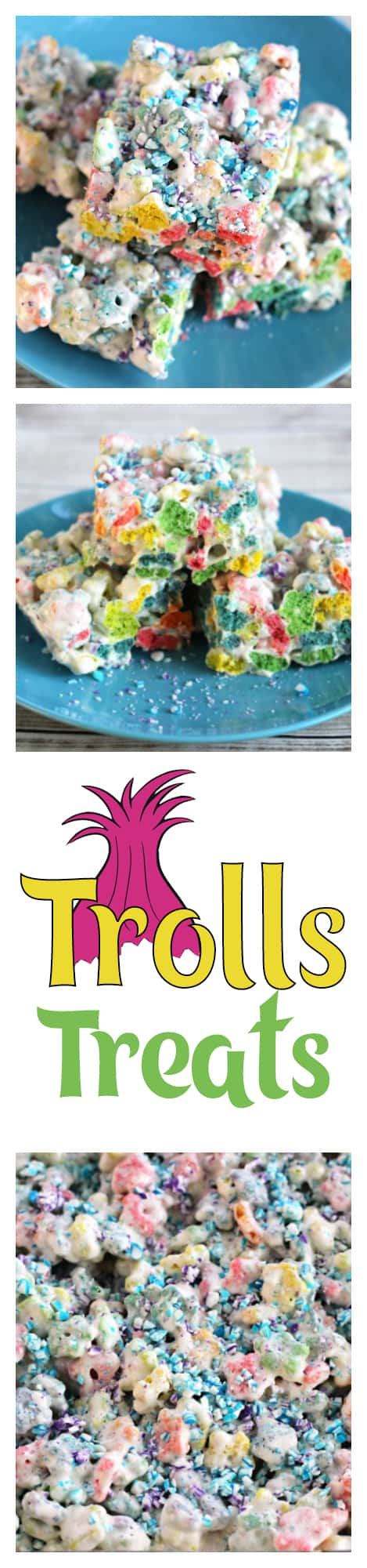 Make these Trolls party treats for your next Trolls birthday party or just for fun with the little Troll lovers in your life.
