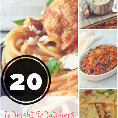 Break out your slow cooker and try these 20 Weight Watchers Crock Pot recipes with SmartPoints already calculated.