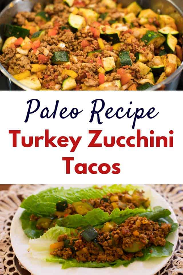 One pot paleo dinner ideas like these turkey zucchini tacos will help you stay on track with your paleo diet, especially if you're a beginner.