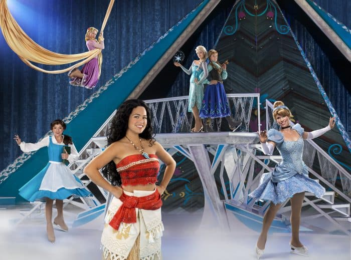 Go behind the scenes of disney on ice and see what it takes to create a performace