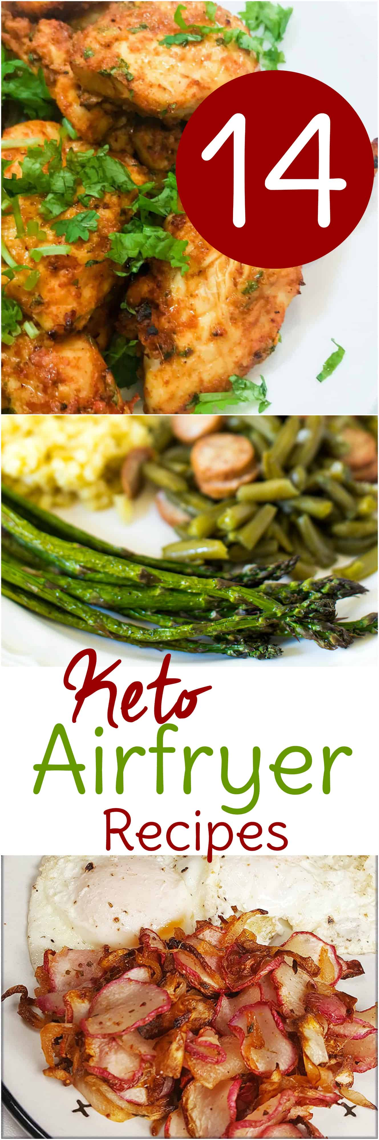 14 keto Air Fryer recipes to make the low carb/high-fat way of eating even easier.