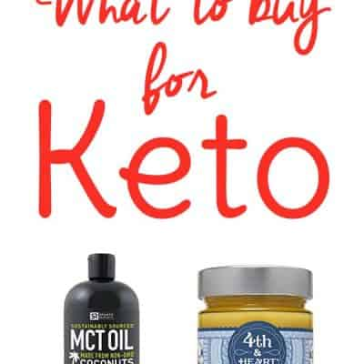 Keto Diet for Beginners! If you're going to start a keto diet this new year, but you might be wondering what to buy for keto? You can find the bulk of your food at the grocery store but due to quality or availability, it's best to purchase some keto products online. Find out which ones!