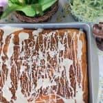 Easy Easter Dessert Recipe: Honey Bun Cake without Sour Cream!