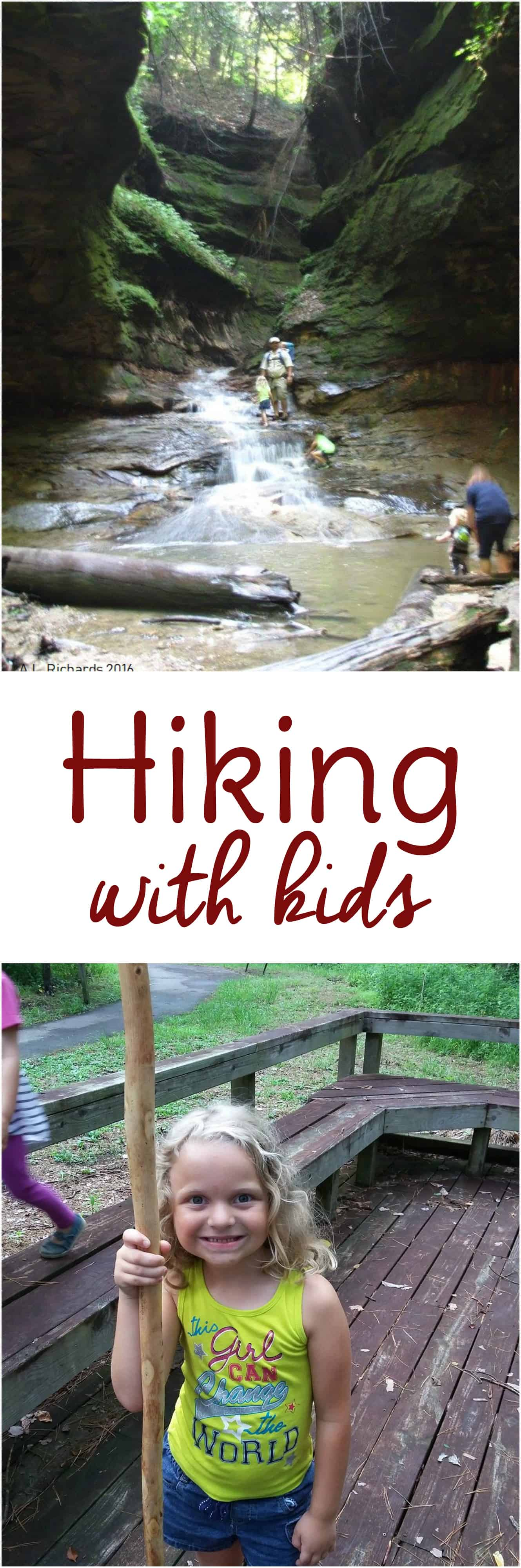 Hiking with kids is a great way to have outdoor family fun. Everything you need to know for hiking with baby or hiking with toddlers too!