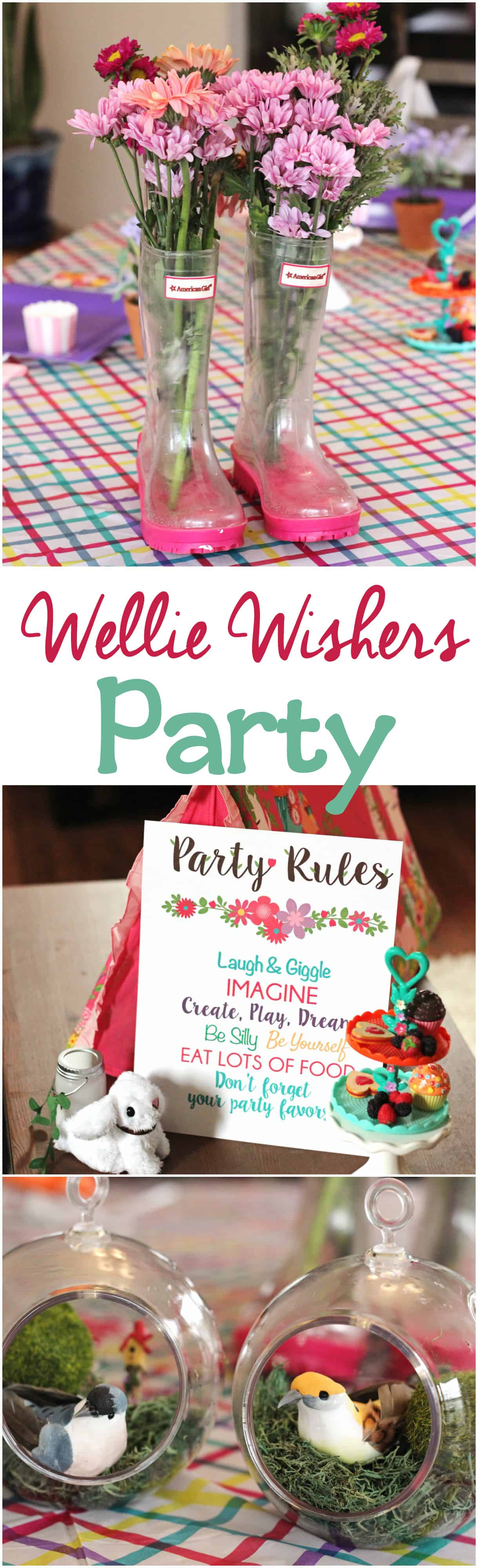 Use these Wellie Wishers printables and ideas to create an epic Wellie Wishers birthday party for your child. Or be like us and have a Wellie Wishers party for your next playdate! No need to wait for someone to turn another year older.